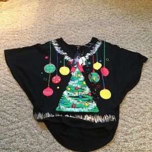 NWT XS graphic Christmas shirt ~ ransom brand